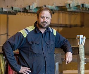 Per Eriksson, ansvarig för betning foto Sjödin